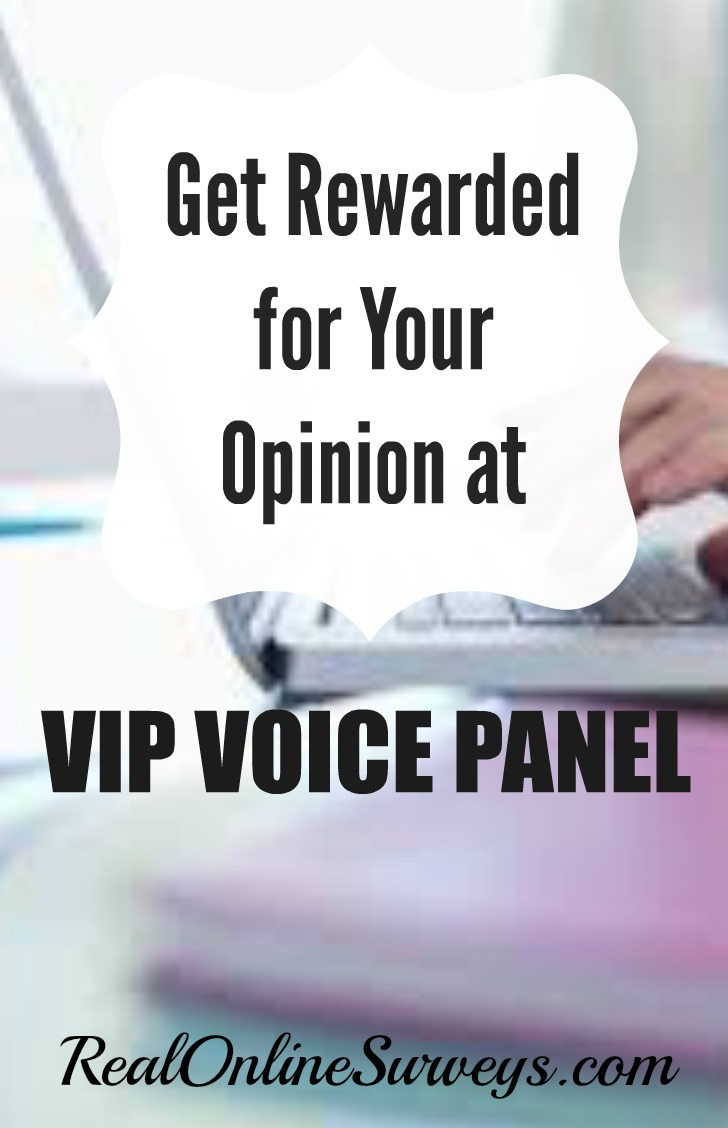 Review of vip voice panel get rewarded for your opinion