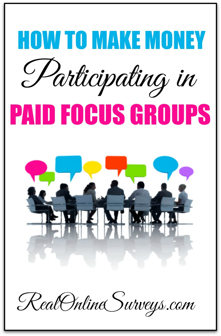 How To Make Money Participating in Paid Focus Groups