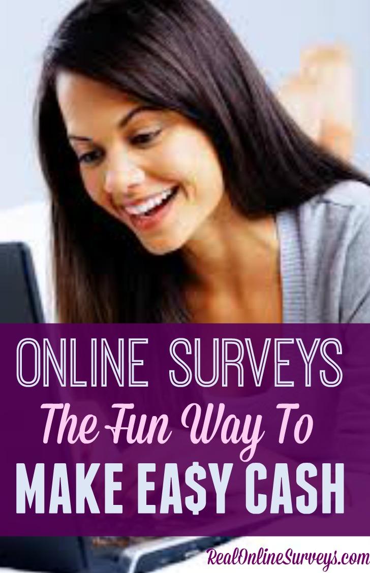 Online Surveys – The Fun Way to Make Easy Cash