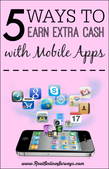 5 Ways To Earn Extra Cash with Mobile Apps