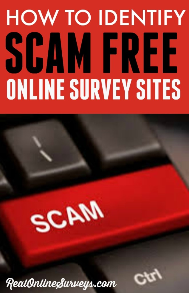 When you are looking for online work you have to be careful to make sure that you are looking at sites that are scam free and not fake websites. It is important that you are able to distinguish between real and fake online survey sites.