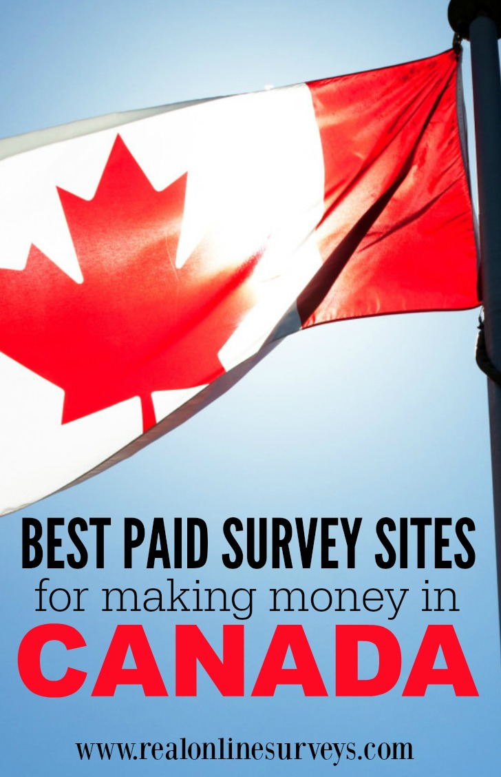 ... paid survey companies which pays canadians for taking online surveys