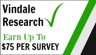Vindale Research: Earn Up To $75 Per Online Survey