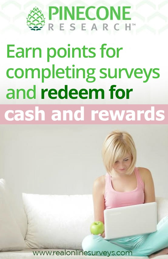 Pinecone Research: Earn Cash by Taking Surveys Online