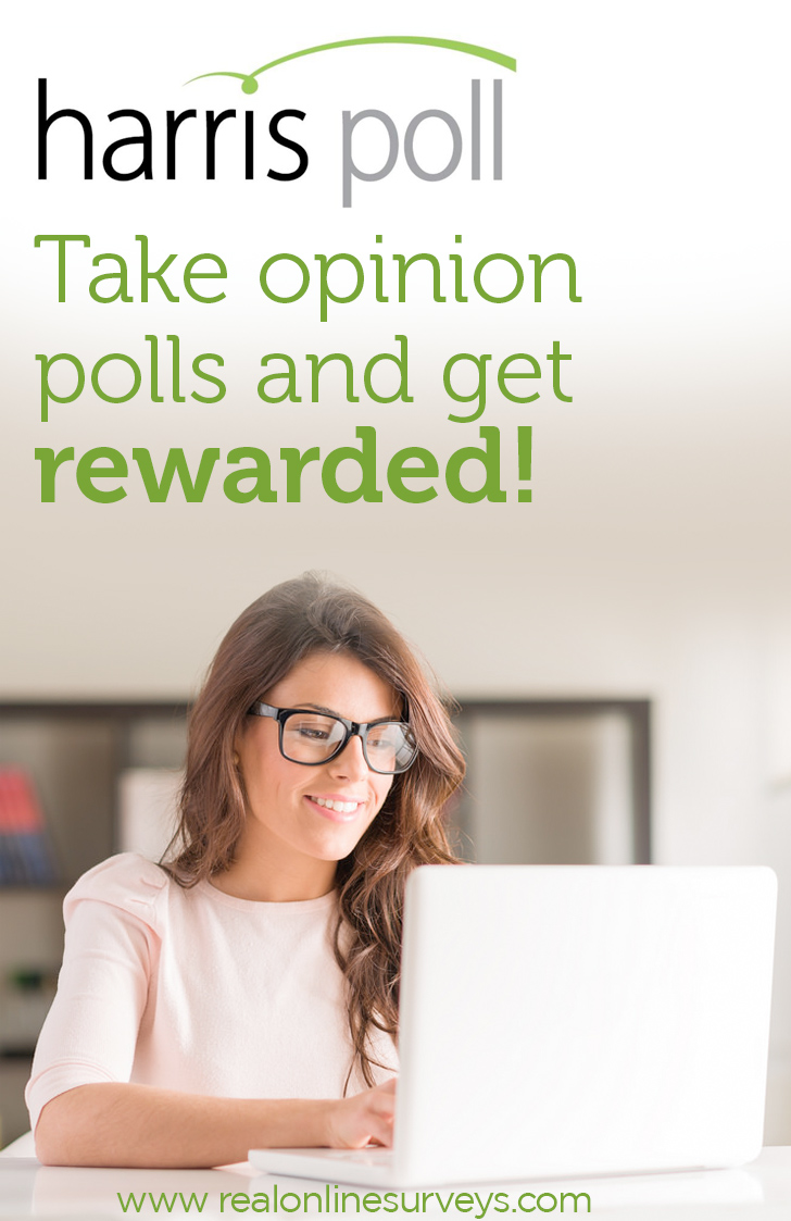 Harris Poll offers online surveys that are engaging and cover a wide variety of topics. This is an easy way for teens and moms to make money taking surveys.
