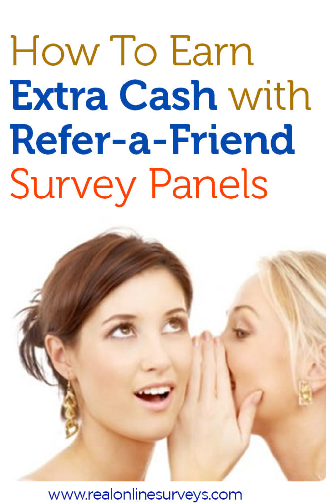 If you are looking for a way to increase your earnings with online surveys, you should take advantage of the refer-a-friend survey panels.