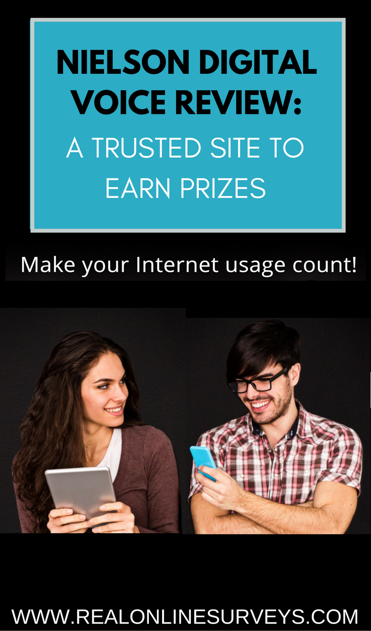 Can you really earn free prizes for taking online surveys? Yes, you can with Nielsen Digital Voice. It is completely free to join for teens 18 and over.