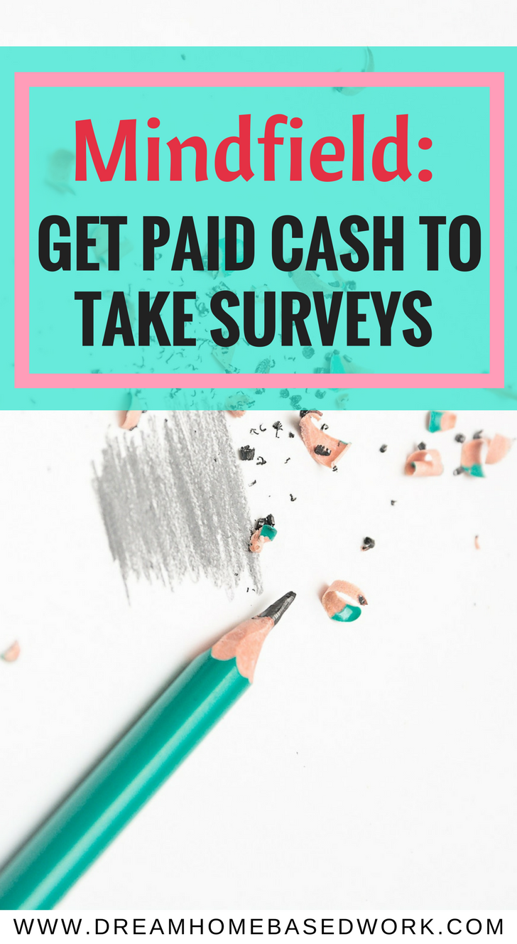 Join Mindfield - A (legit) survey panel that pays CASH, not points! Read full review at realonlinesurveys.com