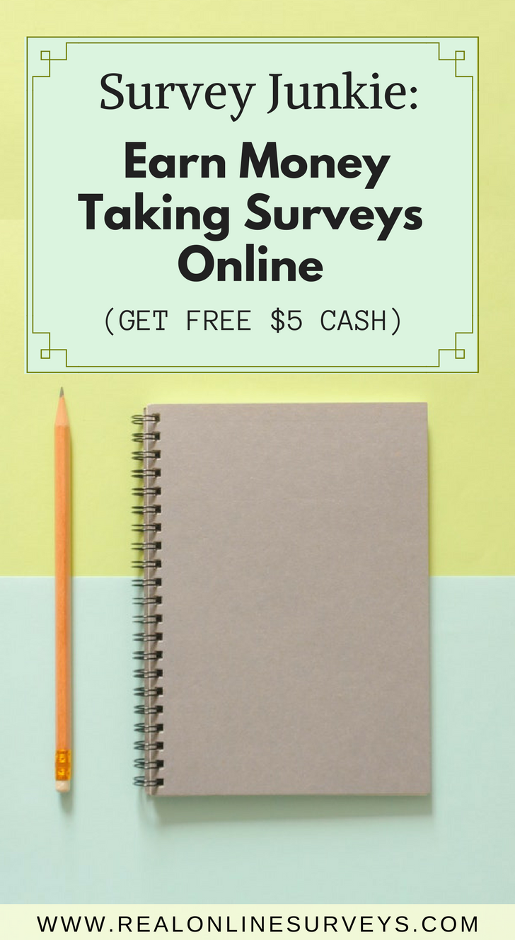 If you love surveys, then we've got news for you on how you can earn cash money by sharing your opinion at Survey Junkie.